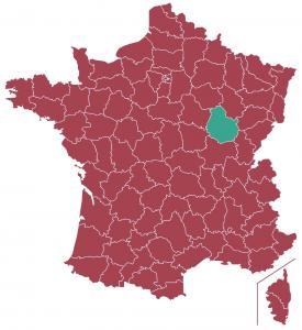 Impôts locaux département Côte-d'Or