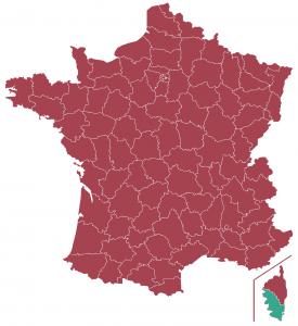 Impôts locaux département Corse-du-Sud