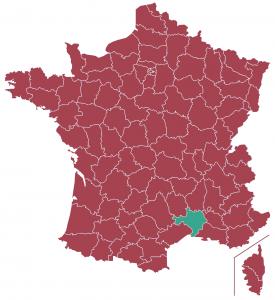 Impôts locaux département Gard