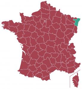 Impôts locaux département Haut-Rhin