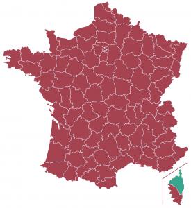 Impôts locaux département Haute-Corse
