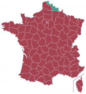 Impôts locaux département Nord